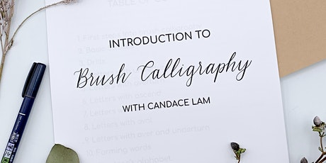 INTRODUCTION TO BRUSH CALLIGRPAHY - ONLINE WORKSHOP, VANCOUVER CANADA tickets
