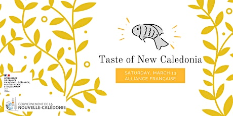 Taste of New Caledonia tickets