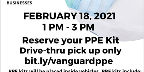 PPE Distribution (Disinfectant spray, wipes, masks, hand sanitizer) tickets