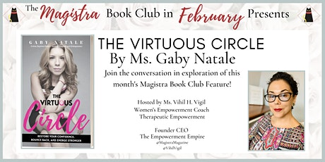 The Magistra Book Club Presents: THE VIRTUOUS CIRCLE BY GABY NATALE! tickets