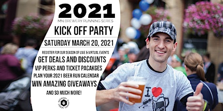 Kick Off Party | 2021 MN Brewery Running Series tickets