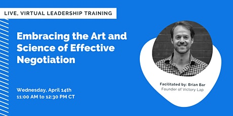 Embracing the Art and Science of Effective Negotiation tickets
