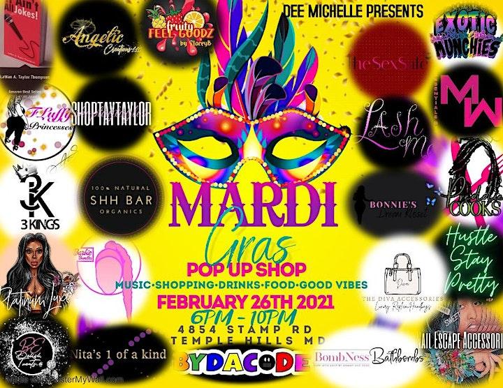 Mardi Gras Edition Pop Up Shop image