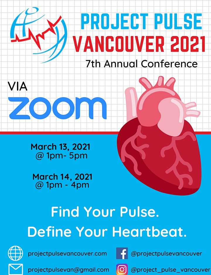 Project Pulse Vancouver 2021 Annual Conference REGISTRATION image