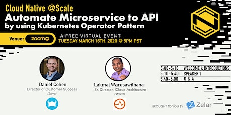 Automate Microservice to API  by using Kubernetes Operator Pattern tickets