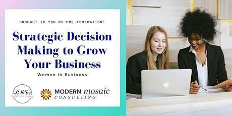 Strategic Decision Making to Grow Your Business tickets