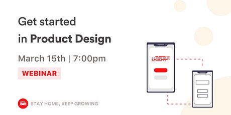 [Webinar] Product and UI Design for beginners tickets