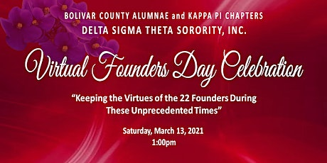2021 Virtual Founders Day Celebration tickets
