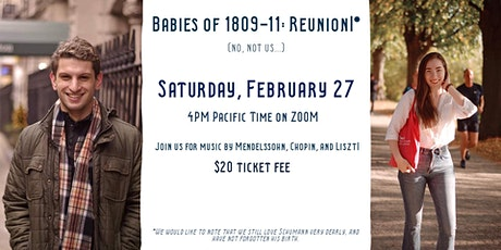 Misha and Rachel Present: Reunion! Babies of 1809-1811 tickets
