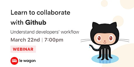 [Webinar] Learn to collaborate with GitHub! tickets