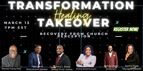 Transformation Healing Takeover tickets