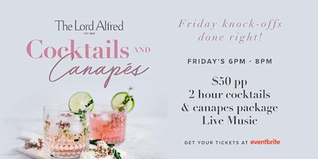Cocktails & Canapes tickets