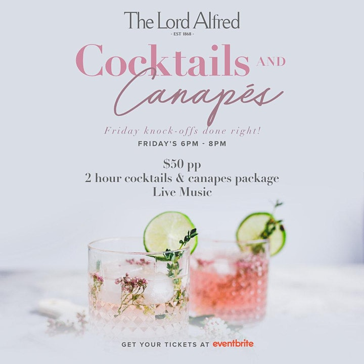 Cocktails & Canapes image