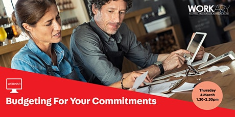 WEBINAR: Budgeting for Your Commitments tickets