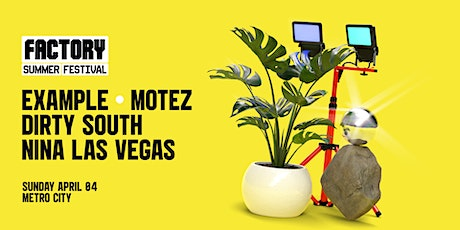 Example + Motez + Dirty South + NLV [Perth] | Factory Summer Festival tickets