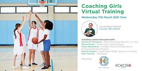 Coaching Girls Virtual Training biglietti
