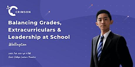 WLG|Balancing Grades, Extracurriculars & Leadership at School tickets
