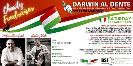 Darwin al Dente tickets