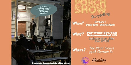 Porch Show Storytelling tickets
