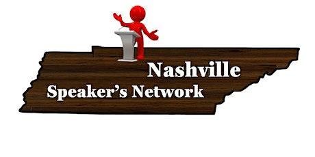Nashville Speaker's Network - Kickoff meeting tickets