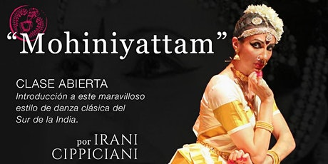 INTRODUCCIÓN AL MOHINIYATTAM junto a Irani Cippiciani - Brasil - entradas