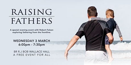 Raising Fathers - Book Launch tickets