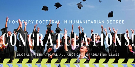 Honorary Doctorate in Humanitarianism Ceremony tickets