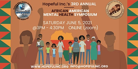 3rd Annual African American Mental Health Awareness Symposium tickets