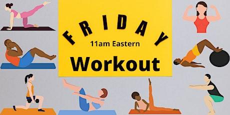 Friday Workout boletos