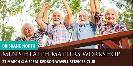 Brisbane North Men's Health Matters Workshop tickets