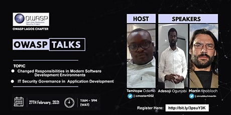 OWASP TALKS FEBRUARY EDITION tickets