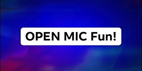 "INTERNATIONAL MIXER: ""Icebreaker"" + Open Mic (+ Creative Self-Expression)! tickets"