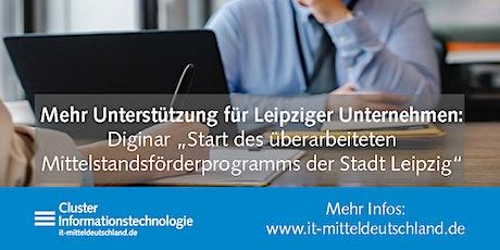 Stadt Leipzig startet überarbeitetes Mittelstandsförderprogramm tickets