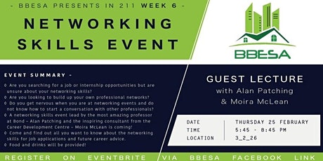 Networking Skills Event tickets