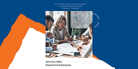 NRG Mastermind Sessions with Tracey Franco tickets