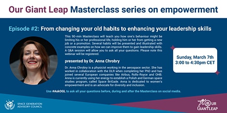 From changing your old habits to enhancing your leadership skills tickets