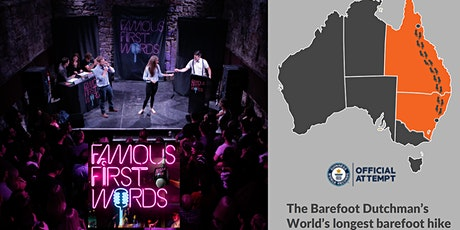 Famous First Words: Featuring the Barefoot Dutchman tickets