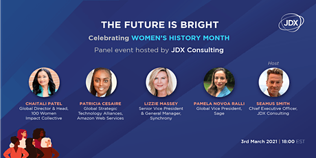 The Future is Bright: Celebrating Women's History Month tickets