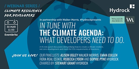 In tune with the climate agenda: what developers need to do. tickets