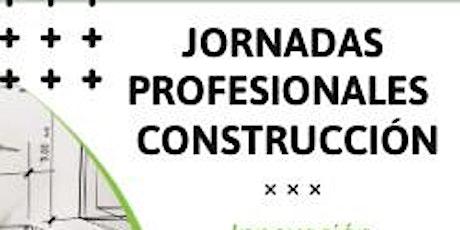 Jornada Innovación en productos y sistemas para la Construcción en Sevilla entradas