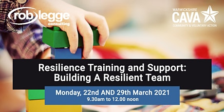 Resilience Training and Support: Building A Resilient Team tickets