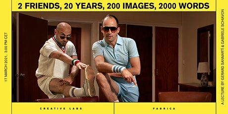 2 FRIENDS, 20 YEARS, 200 IMAGES, 2000 WORDS Tickets