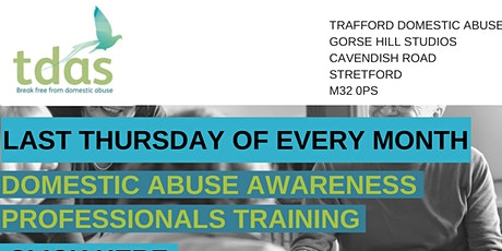 Domestic Abuse Training for Professionals tickets