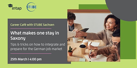 Career Café with STUBE Sachsen Tickets