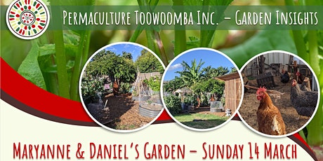 Garden Insights Visit - Maryanne and Daniel's Garden tickets