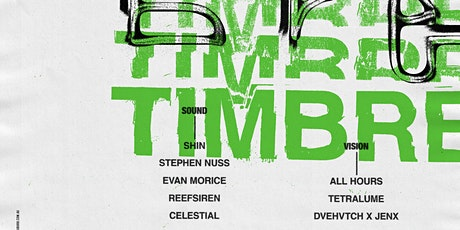 TIMBRE tickets