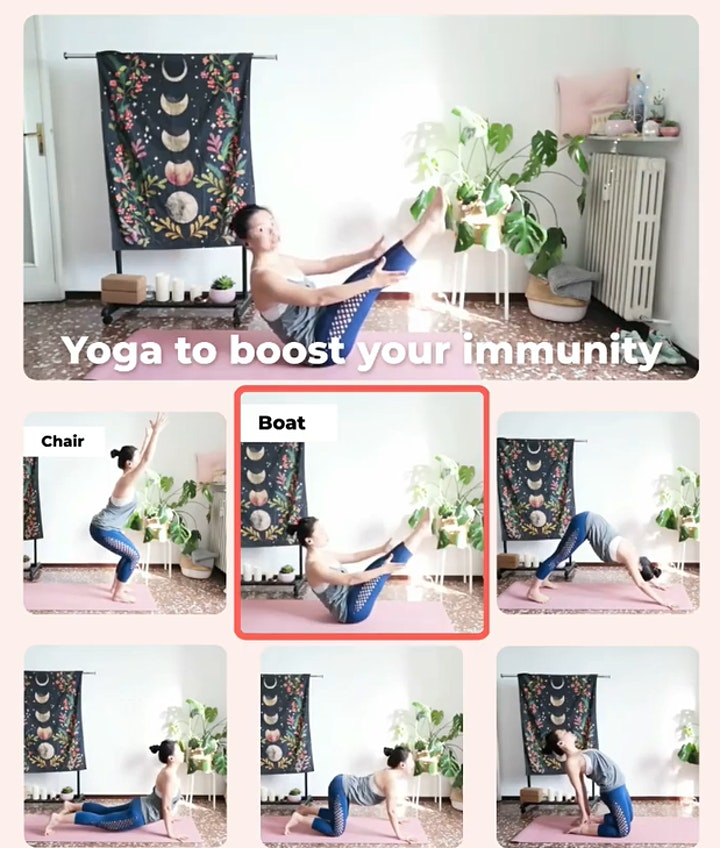 5 Day immunity booster Yoga (Zenia Yoga App) image