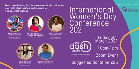 The Dash Charity's International Women's Day Conference 2021 tickets