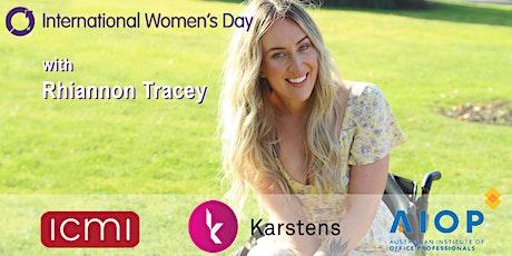 Perth International Womens Day Morning Tea - Rhiannon Tracey tickets