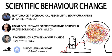 Scientific Behaviour Change Online Conference tickets